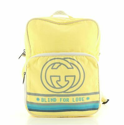 AU1359.82 • Buy Gucci 80's Patch Backpack Nylon Medium