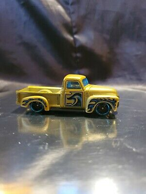 AU3.80 • Buy 2018 Hot Wheels Mystery Models Gold '52 Chevy Pickup Loose & Lovely