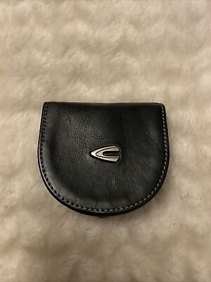 Camel Active Vegas Coin Purse Wallet Munzborse Black New • 85£