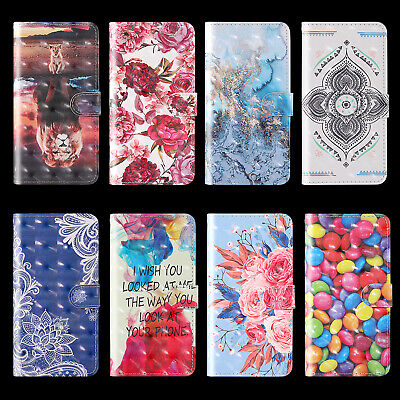 $4.13 • Buy For Samsung Hot New Luxury Fashion Painted Flip Antislip Wallet Phone Case Cover