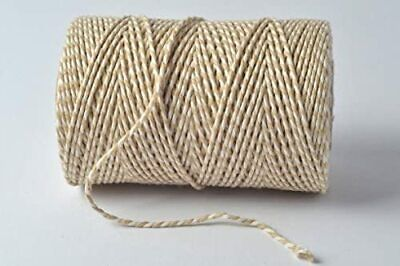 £2.85 • Buy Bakers Twine Wedding Party Crafts Cord String Ribbon 100% Cotton 2mm