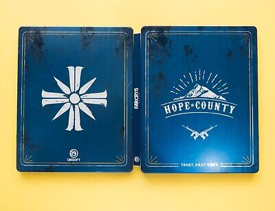 AU14 • Buy Far Cry 5 - STEELBOOK CASE - VGC! (no Game, Case ONLY)