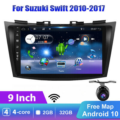 AU246.59 • Buy 9 Car Stereo GPS Head Unit For Suzuki Swift Ertiga Android 10.0 WIFI DAB+CAM OBD