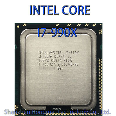 $ CDN241.24 • Buy Intel Core I7 990X Extreme Edition 3.46GHz 6 Core 12 Threads L3-12M LGA 1366 CPU