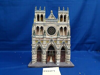 $ CDN12.38 • Buy Lemax Village Collection St. Patrick's Cathedral Facade #95916 As Is SV0117