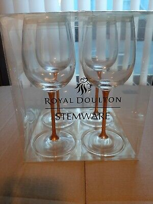 Royal Doulton Wine Glasses  Never Used  • 25£