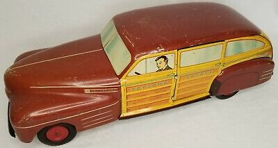 $ CDN362.75 • Buy Vintage Wyandotte Pressed Steel Toys Toytown Estate Car Automobile Collectable