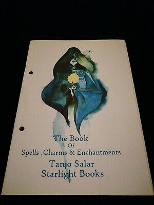 £15 • Buy The Book Of Spells, Charms And Enchantments Tanjo Salar Starlight Books Finbarr