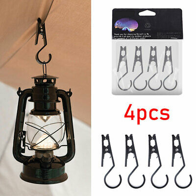 4 Pieces/Pack Camping Awning Tent Clip - Towel Cups Hanging Buckle Hooks Outdoor • 6.79£