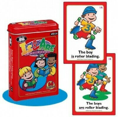 AU47.90 • Buy Is And Are Fun Deck Cards - Super Duper Educational Learning Toy For Kids