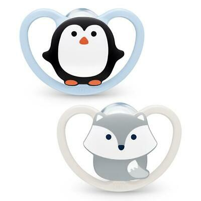 £4.99 • Buy Nuk  Space Day  Orthodontic Soothers  2 In Pack  0-6/6-18m  Boys/Girls  Bpa Free