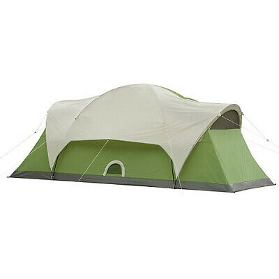 AU503.64 • Buy Coleman Montana 8-Person Modified Dome Tent, 4.9m X 2.1m. Free Shipping