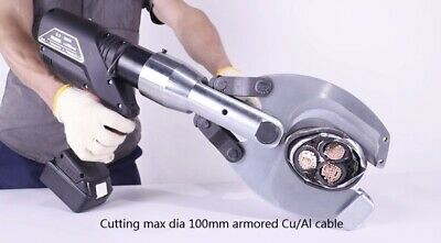£1554 • Buy Hydraulic Cable Cutter, Battery Powered  Cutter, Power Cutter - Max Dia 100mm