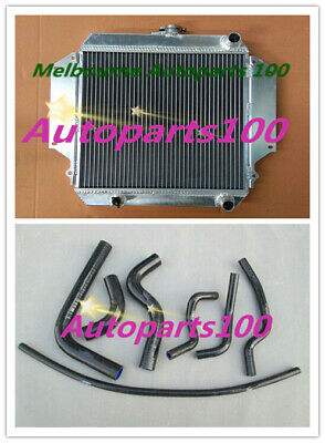 AU182 • Buy For SUZUKI SIERRA Radiator + Black Hoses 1.0 1.3 SJ410/413 1981-1996 Aluminum MT