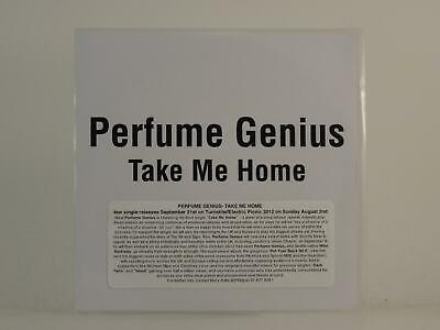 PERFUME GENIUS TAKE ME HOME 1 Track Promo CD Single White Sleeve TURNSTILE MUSIC • 3.27£