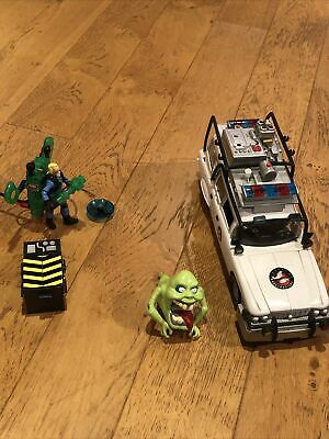 Rare Extreme Ghostbusters Ecto-1 Car + Slime Ghost & Ghostbuster With Noises • 55£