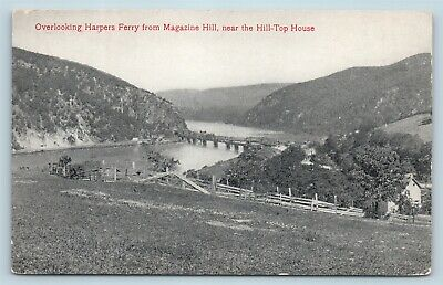 $12.49 • Buy Postcard WV Harpers Ferry 1908 View Town From Magazine Hill Pub WL Erwin M14