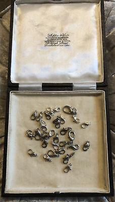 Modern Vintage Job Lot 29 Silver Tone Lobster Clasp Jewellery Making (1k) • 0.10£