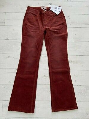 £14.99 • Buy HEINE Brown Cord Jeans Trousers UK Size 12 NEW