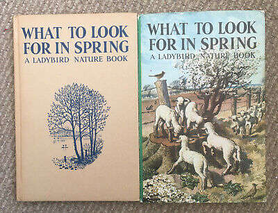 Vintage Ladybird What To Look For In Spring Book Series 536 Dustjacket 2'6 Net. • 16.50£