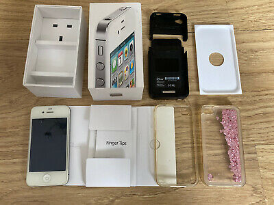 £25 • Buy Excellent Condition Apple Iphone 4s Unlocked 16GB With Lots Of Accessories