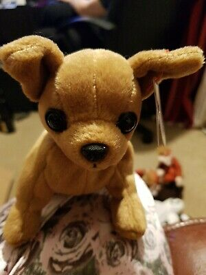 £4 • Buy Ty - Beanie Babies Tiny The Chihuahua Dog With Tag Teddy Collectible Toy