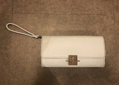 AU4 • Buy Forever New Light Blue Clutch/shoulder Bag With Chain Strap