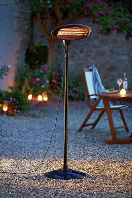 £89.99 • Buy Free Standing Adjustable Outdoor Patio Heater 2000kw Brand New Next Day Delivery