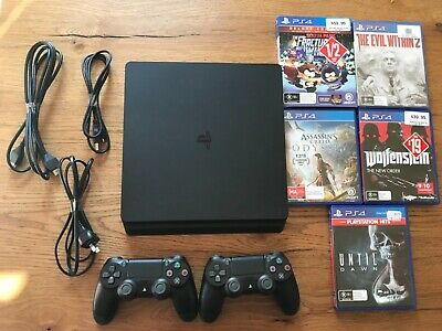 AU305 • Buy Sony PlayStation 4 PS4 Slim 1TB Console - Black