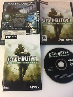 £5.99 • Buy PC Game - Call Of Duty 4 Modern Warfare - DVD-ROM - Complete !!