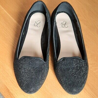 Evans Flat Slip On Shoes Size 5EEE • 2£