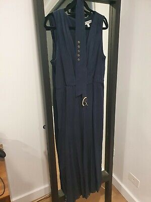 AU22 • Buy Forever New Navy Jumpsuit Size 16