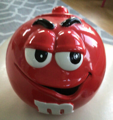 $12 • Buy M&M Cookie-Candy Jar Red