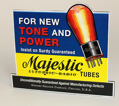 $24.99 • Buy Majestic Electric Radio Tube Sales Stand Up Ad
