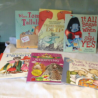 £15 • Buy 6 Childrens Books Bundle - 3 New 1 Stickers Book