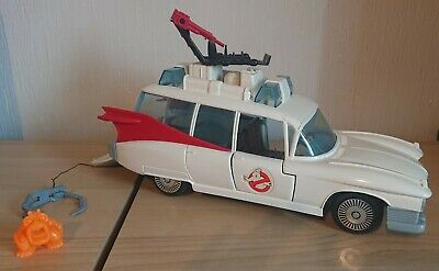 Vintage Kenner The Real Ghostbusters ECTO 1 + ECTO 500 Cars With Ghost Figures • 49.95£