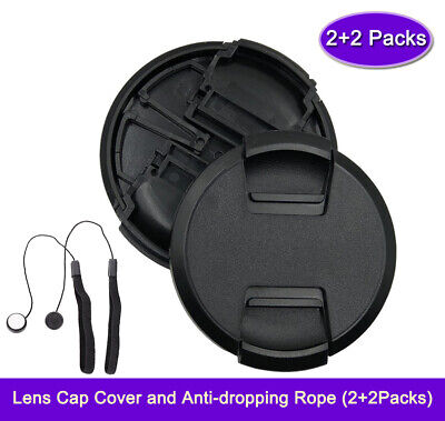 $ CDN8.48 • Buy [2-Pack] 40.5mm Lens Cap For Sony A6400 A6300 A6000 Kit/w 16-50mm Lens