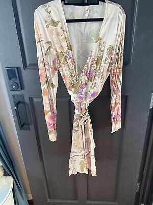 AU47 • Buy Spell And The Gypsy Collective Blue Skies Wrap Dress Size L