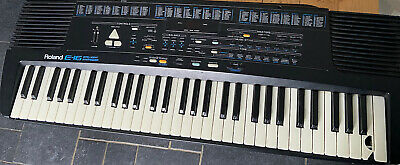 AU357.78 • Buy Roland E-16  Intelligent Synthesiser Keyboard Piano - Was Working