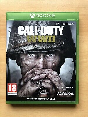 Activision Call Of Duty: WWII For Microsoft Xbox One 2017 • 5£