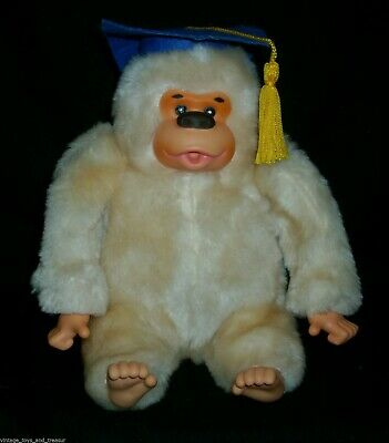 $ CDN24.54 • Buy 7  Vintage Russ Berrie Graduation Hat Gonga Monkey Stuffed Animal Plush Toy Ape