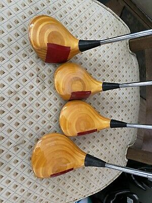 AU95.64 • Buy Ping Zing Blond Driver, 3,5,7 Wood Steel KT-M Shaft
