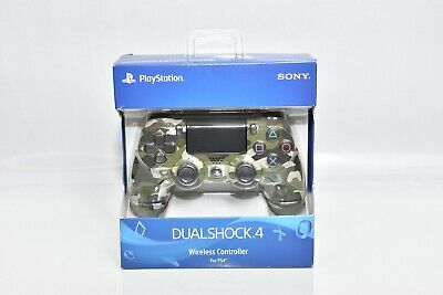 AU80.37 • Buy Sony DualShock 4 PS4 Wireless Controller For PlayStation 4 - GREEN CAMO NEW