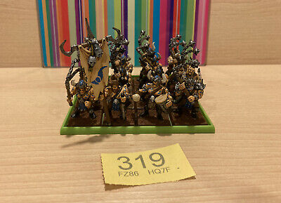 £19.95 • Buy 319 Warhammer Oldhammer CHAOS 16x Marauders W. Command - Well Painted