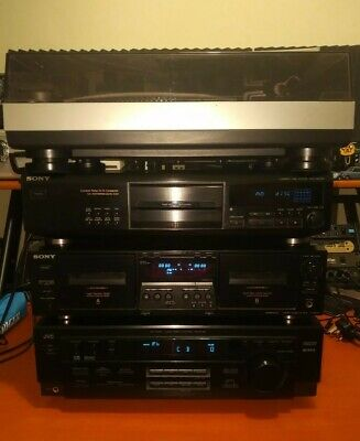 £349.99 • Buy Sony JVC Stanton Stack Seperates Stereo Sound System Excellent Condition Rare
