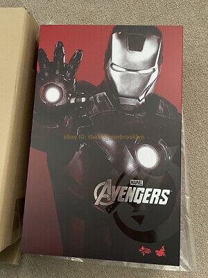 $ CDN386.93 • Buy Hot Toys MMS185 Avengers Iron Man Mark VII MK7 Tony Stark 1/6 Scale Figure