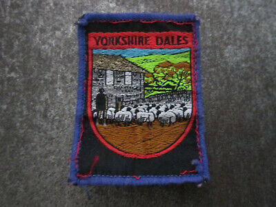 £3.99 • Buy Yorkshire Dales Woven Cloth Patch Badge (L46S)
