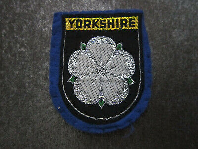 £3.99 • Buy Yorkshire Woven Cloth Patch Badge (L46S)
