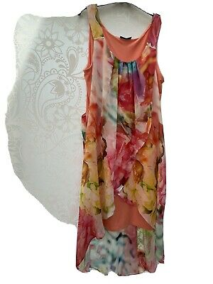 AU5.72 • Buy Ladies Oasis Summer Dress Size 14
