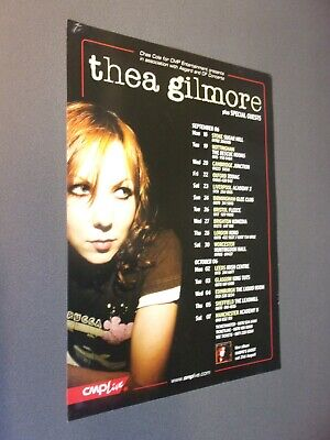 £10 • Buy Thea Gilmore Original Concert Posters, Manchester